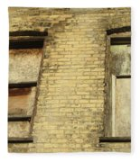 Boarded Windows 2 Fleece Blanket