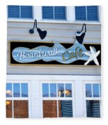 Boardwalk Cafe Fleece Blanket