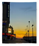 Boardwalk House Of Blues At Sunrise Fleece Blanket