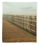 Boardwalk To The Unknown Fleece Blanket