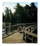 Boardwalking Fleece Blanket