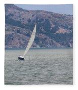 Boat- In Color Fleece Blanket