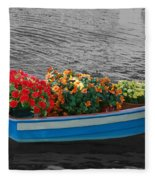 Boat Parade Fleece Blanket