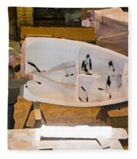 Boat Shed 6 Fleece Blanket