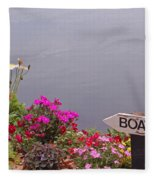 Boat Fleece Blanket