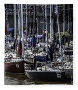Boat Week 2 Fleece Blanket