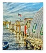 Boathouse Alley Fleece Blanket