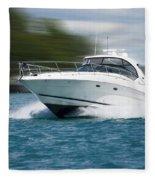Boating 01 Fleece Blanket