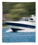 Boating 02 Fleece Blanket