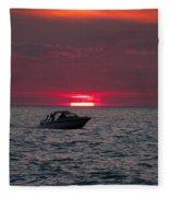 Boating Fleece Blanket