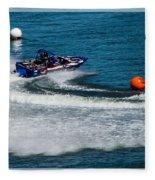 Boatnik Races 1 Fleece Blanket