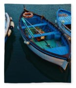 Boats Trio Fleece Blanket