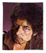 Bob Dylan Fleece Blanket