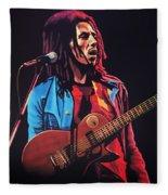 Bob Marley 2 Fleece Blanket