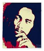 Bob Marley Fleece Blanket