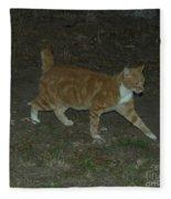 Bob-tail Cat Fleece Blanket