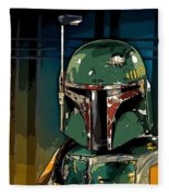 Boba Fett 2 Fleece Blanket