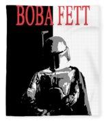 Boba Fett- Gangster Fleece Blanket