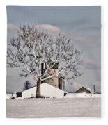 Bobby's Farm Fleece Blanket