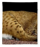 Bobcat Fleece Blanket