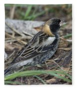 Bobolink Feeding Fleece Blanket