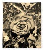 Boca Rose Fleece Blanket
