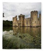Bodiam Castle Fleece Blanket