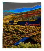 Bodie Sunset Fleece Blanket