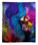 Bodies Colorful Fleece Blanket