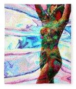 Body And Spirit Fleece Blanket