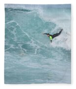 Body Surfer  Fleece Blanket