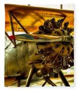 Boeing 100p Fighter Fleece Blanket