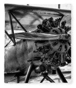 Boeing 100p Fighter II Fleece Blanket