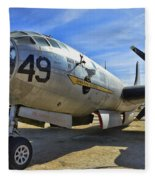 Boeing B-29a Superfortress Fleece Blanket