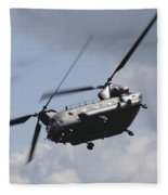 Boeing Chinook Fleece Blanket