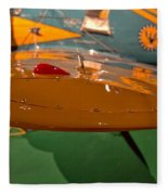 Boeing P26 Peashooter Wing Fleece Blanket