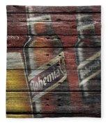 Bohemia Beer Fleece Blanket