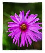 Bohemian Garden Pink Fleece Blanket
