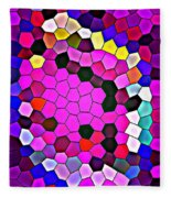 Bold And Colorful Phone Case Artwork Designs By Carole Spandau Cbs Art Exclusives 113 Fleece Blanket