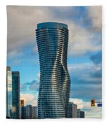 Bold Towers Fleece Blanket