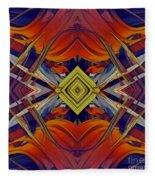 Boldness Of Color Fleece Blanket