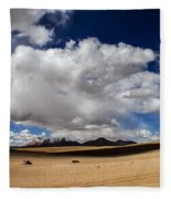 Bolivia Cloud Valley Fleece Blanket