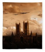 Bomber Country  Fleece Blanket