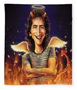 Bon Scott Fleece Blanket