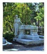 Bonaventure Cemetery 2 Fleece Blanket