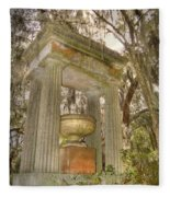 Bonaventure Statue Fleece Blanket