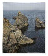 Bonavista Rocks Fleece Blanket