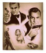 Bond The Golden Years Fleece Blanket