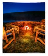 Bonfire Fleece Blanket