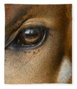 Bongo Skin Pattern Fleece Blanket
